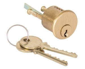 TSS 1700 (Like Medeco 10-0300) Satin Brass Solid Replacement